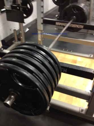 My Rack Pull weight, but getting this off the floor as a true Deadlift may be a bit more difficult!