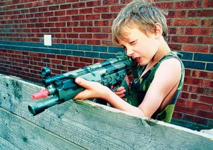 Boy With Toy Gun
