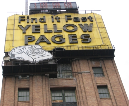 Get a good look, as this iconic sign is even gone in The D.!