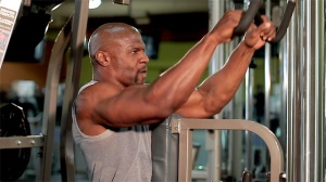 Looks like Terry Crews is a Hammer Strength fan as well. Crews definitely makes my list of Bros I'd like to train with one day.