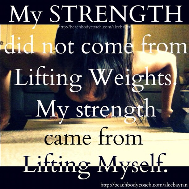LiftingMyselfStrength